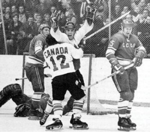 Photo by Frank Lennon via Flickr. Henderson scored a goal that brought a nation together, but is curiously absent from the Hockey Hall of Fame.