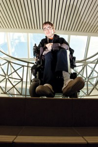 Joe Waring, who has Cerebral Palsy, said people shouldn't just assume that he needs help just because of his disability.