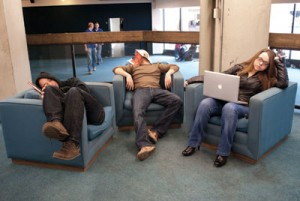 Photo by Mayan Freeborn. A guide to find some much needed rest or study space on MRU campus. Hey, it's hard sometimes.