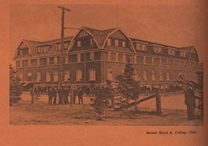 "The original MRC building, known as ""The Barn."