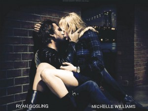 Photo courtesy of themoremovies.com. Ryan Gosling and Michelle Williams play a young blue-collar couple in Blue Valentine struggling against the highs and lows of relationships.