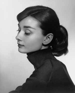 Photo courtesy of The Glenbow Museum,  Yousuf Karsh's ability to capture the essence of his subjects, such as Audrey Hepburn, created many iconic images.