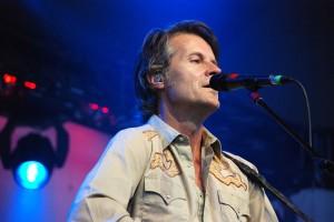 Jim Cuddy sings at the Calgary Folk Fest 2011. Photo by Sean-Paul Boynton.