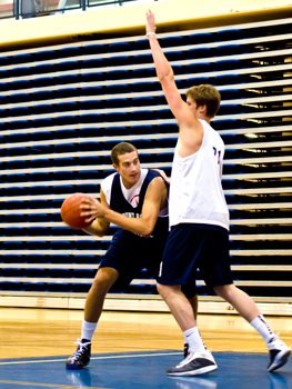 Basketball at MRU