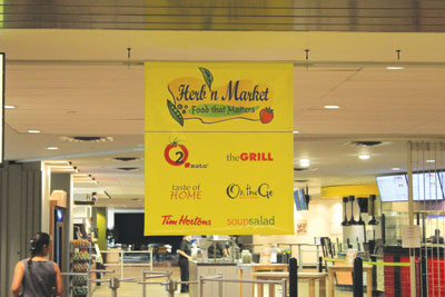 Hungry students, don't despair! The Herb'n Market is back with a huge line up of options to satisfy your appetite.  Photo courtesy: MRU Business & Retail Services