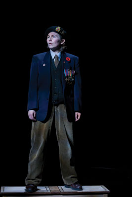 Take the whole family to see Jake's Gift, a play about a veteran who is reluctant to go back to France on the anniversary of D-Day. The play runs until Nov. 22. Photo courtesy: Jake's Gift