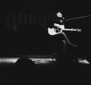 Singer-songwriter Craig Cardiff engaged the audience at the Hub with emotion and heart. Cardiff played four Calgary shows in January alone. Photo courtesy: Facebook