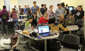 From Los Angeles to Calgary and beyond, game developers across the globe come together every year to create and promote indie video games | Photo courtesy of Global Game Jam Los Angeles/Wikipedia