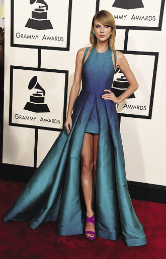 Taylor Swift will look to clean up once again at this year's Grammy Awards show | Photo courtesy of Steve Granitz | Wireimage.com