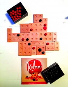 """Kulami is one of the many board games they have at Pips"" 