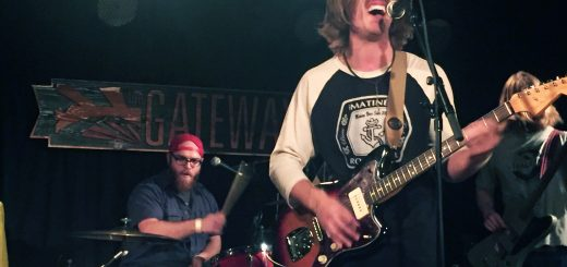 Calgary natives Cowpuncher played the Gateway on Nov. 4. Photo by Ingrid Mir